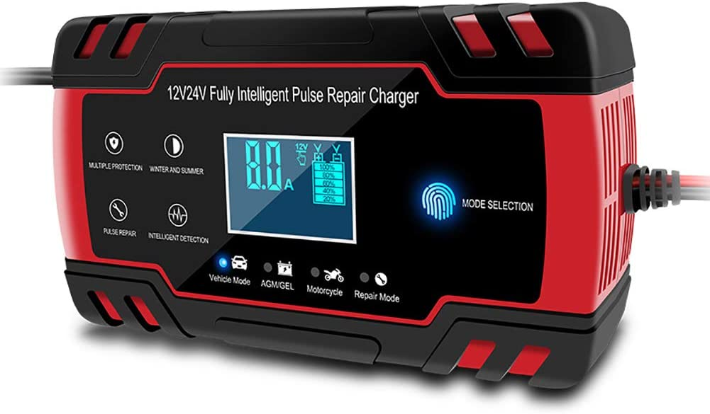 SCYDAO Car Battery Charger Finally popular brand Tulsa Mall and Intelligent 8A Maintainer 24V 12V