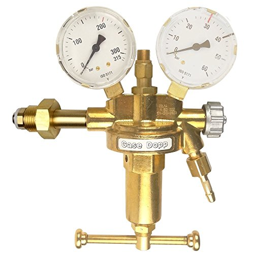 Gase Dopp Druckminderer Druckluft 200bar Pressluft für Druckluftflasche Pressluftflasche 0-30 bar
