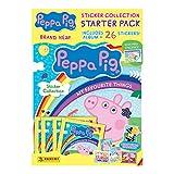 Panini Peppa Pig PPMFTSTSP - Pegatinas para principiantes, diseño de My Favourite Things