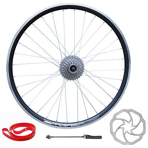 Madspeed7 QR 29' 29er (ETRTO 622x19) Mountain Bike REAR Wheel 8 speed Disc Brake