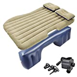 Yescom Inflatable Mattress Backseat Cushion Car Air Bed Travel Camping w/Pillow Pump