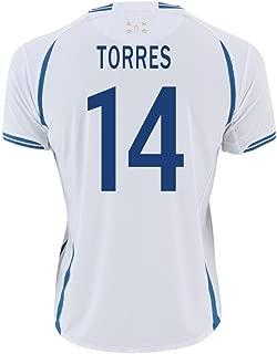Joma TORRES #14 Honduras Home Soccer Jersey (Player of Rio 2016 Olimpics)