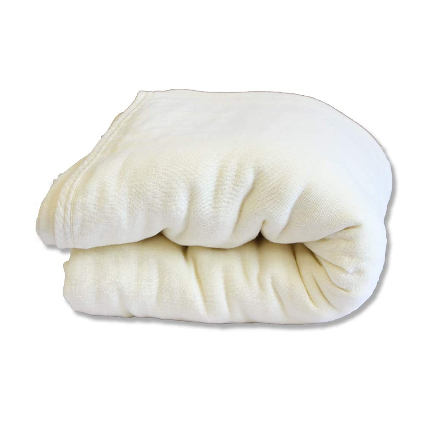 ベリからに変化する話す共進繊維 5重織りガーゼケット シングル (140 × 200cm) タオルケット オールシーズン 天然素材綿100% 洗濯可能