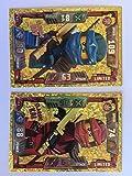 Classic Kai LE1 & Classic Jay LE2 Tarjetas de Trading (Lego Ninjago Series 2)