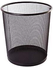 TIPTOP OFFICE TTO prullenbak van draadmetaal 12 liter, kunststof, zwart, medium