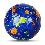 INPODAK Mini futbolín para interiores y exteriores, juguetes para niños pequeños, bola de dibujos animados para niños y niñas, regalo de fútbol para cumpleaños/fiestas/vacaciones.