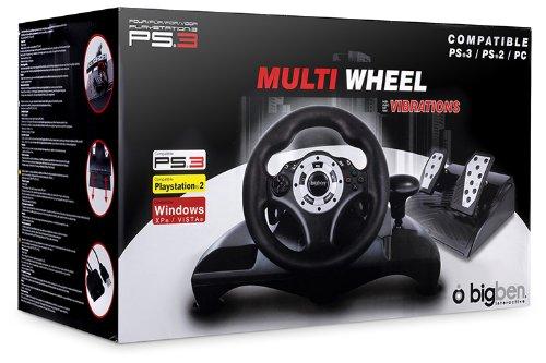 PS3 Volante di gioco con pedali Bigben