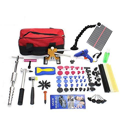 Gleithammer Paintless Dent Repair Tools Dellenentfernung Dent Puller Tabs Dent Lifter Handwerkzeug-Set Tool-Kit