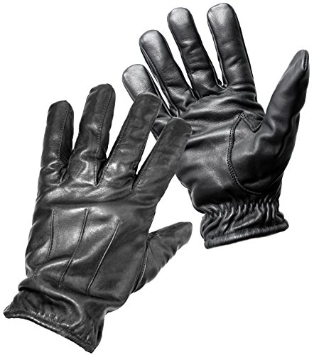 PRODEF ® Security-Handschuhe mit Schnittschutz Level-5, Leder, Größe M