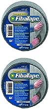 FibaTape FDW8436-U 2-Inch by 150-Feet Cement Board Tape-Alkali-Resistant/Self-Adhesive, Grey (Тwо Расk)