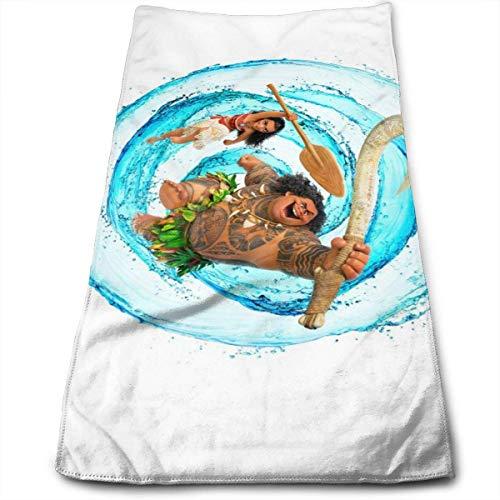 Hdadwy Toalla Moana 100% algodón de Lujo Toallas de baño Suaves, Gruesas, de Calidad, Toallas para baño, Hotel y Cocina (12 x 27,5 Pulgadas)