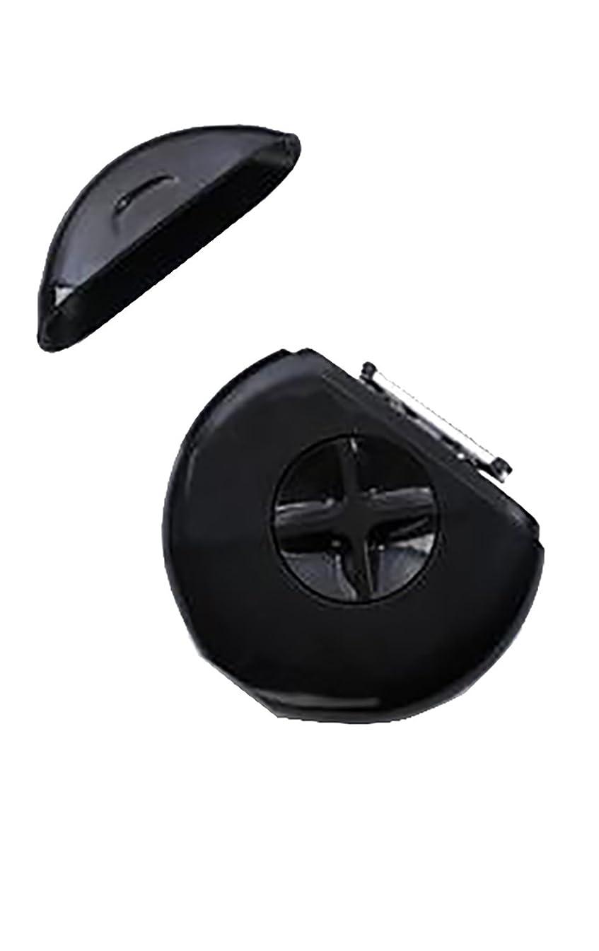 ルーキーバイアスファイバSPHYNX【 スフィンクス 3-IN-1 PORTABLE RAZOR/持ち運び用カミソリ / スプレー モイスチャライザー カミソリ×2 付き/BLACK IN STYLE(ブラック)】 [並行輸入品]
