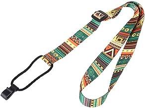 Ukulele Neck Strap Clip Op Ukelele Belt Etnische Handgreepband Voor Ukelele Button-free Hands Free