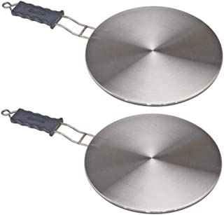 Max Burton 6010 Induction Interface Disk with Heat-Proof Handle (Pack of 2), Works with Max Burton Induction Cooktops 6000, 6200, 6400, 6515, 6235 and any other Induction Cooktop of any Brand