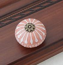 Keramische Knop/Dressoir Knoppen Wit Blauw Kast Trekt Knoppen/Unieke Keuken Deurklink Knop Meubelbeslag, Roze