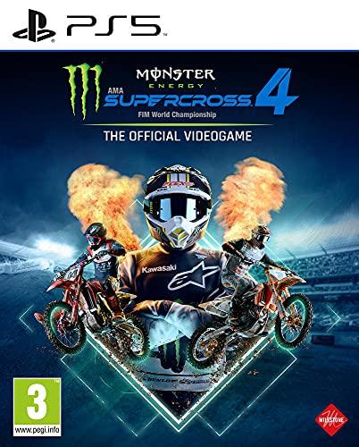 Monster Energy Supercross - The Official Videogame 4 (PS5) [Importación francesa]
