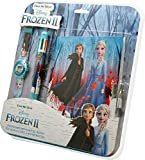 Frozen Set Orologio Digitale + Penna 6c + Diario 2 Braccialetto, Adulti Unisex, Multicolore, Unico