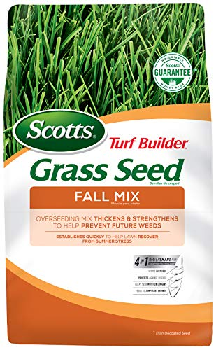 Scotts Turf Builder Grass Seed Fall Mix, 15 lbs.