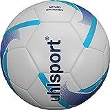 uhlsport Nitro Synergy Balón fútbol, Juventud Unisex, White/Blue/Cyan, 5
