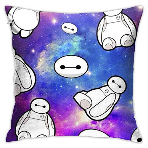Gypsophila Pillow Cover Cushion Cover Galaxy Baymax Decorative Pillow Case Sofa Seat Car Pillowcase Soft 18x18 Inch