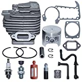 AUMEL 47mm Cylinder Piston Pin Ring Circlip Kit for Stihl MS361 Chainsaw Replace 1135 020 1202