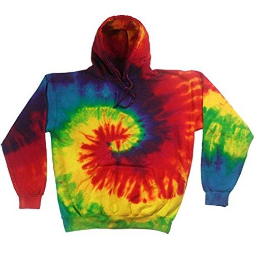 Colortone Rainbow - Sweatshirt à capuche - Homme (2XL) (Arc-en-ciel)