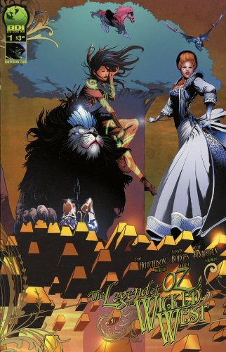Legend of Oz the Wicked West Ongoing #1 Cover C Comic Book - BDI