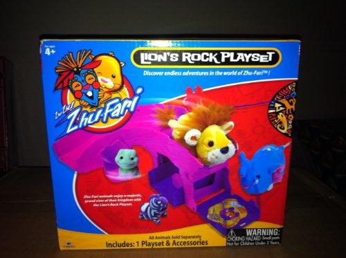 Zhu Zhu Pets Zhu Fari Lions Rock Playset