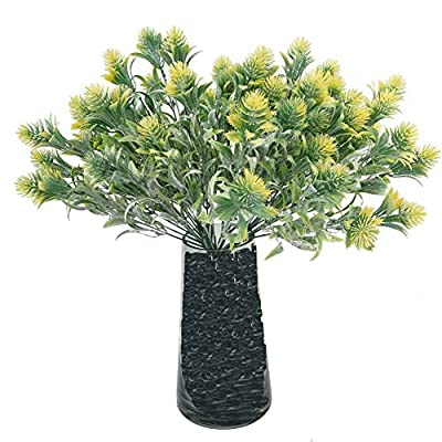 Beferr Artificial Green Pine Plants (Pack of 7)...