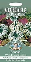 英国ミスターフォザーギルズシード&ジョンソンシード Vegetables Explorer ベジタブル・エキスプローラー Squash Sweet Dumpling スクワッシュ(ウインター)・スイート・ダンプリング
