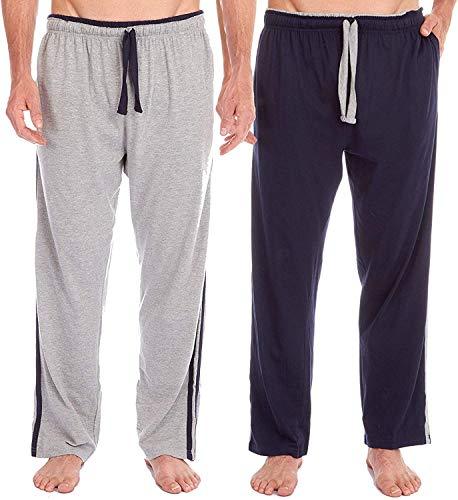Insignia 2 Pack Mens Pijama Salón Pantalones de Chándal