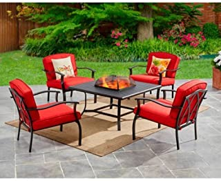 high top fire pit table set