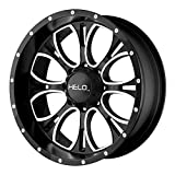 Helo HE879 Wheel with Gloss Black Milled (17x9'/6x5.5')