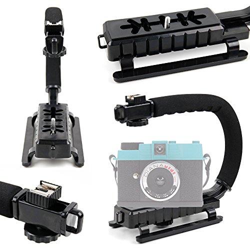 DURAGADGET Estabilizador para cámara Lomo Diana Mini/Lomography Lomo LC-Wide/MINOX Digital Classic Camera/Pyrus Double Screens Waterproof Digital Camera