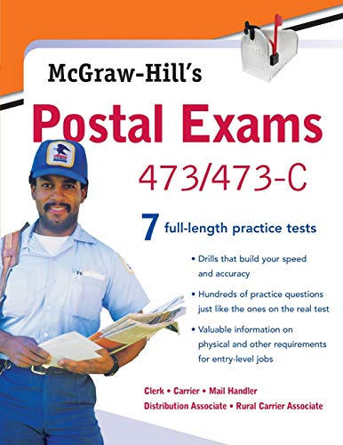 McGraw-Hill's Postal Exams 473/473C (No. 473/473c)