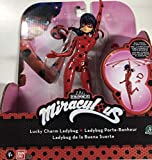 Bandai - Prodigiosa: Las aventuras de Ladybug Figura con acción: Lucky Charm Ladybug (39855)