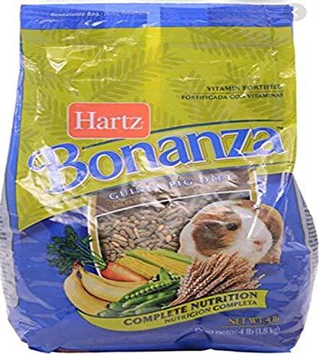 Hartz Bonanza Health & Vitality Blend Guinea Pig Food - 4Lb - 3270097614