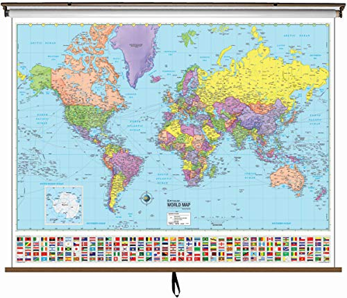 pull down world map - 6