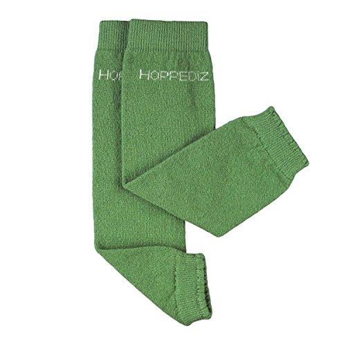 Hoppediz GmbH & Co. KG HOPPEDIZ® Baby-Stulpen aus Kashmir/Merinowolle Uni kiwi