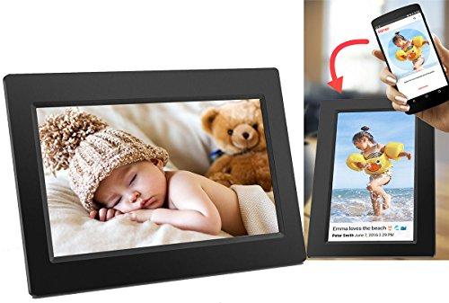 Denver Digitaler Bilderrahmen Schwarz PFF-710 Frameo 7 Zoll