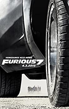 Fast and Furious 7 Movie Poster  24 x 36  Special Thick Poster Paul Walker Vin Diesel The Rock Michelle Rodriguez