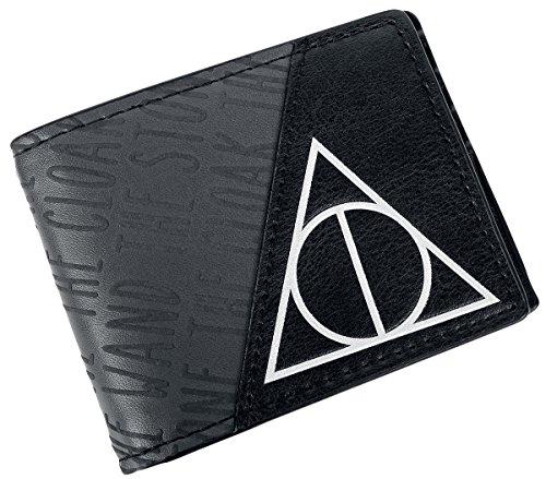 Harry Potter Deathly Hallows Portafoglio nero