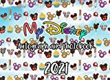 My Disney Autograph & Photo Book 2021: Snacks: Suitable for Disney Character Signatures & Photos