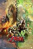 Pyramid America The Legend of Zelda Twilight Princess HD Collage Video Game Gaming Cool Wall Decor Art Print Poster 12x18