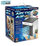 Ontel Arctic Ultra Seen On TV | Evaporative Portable Air Conditioner | Personal Space Cooler | (Renewed)