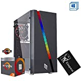 Pc gaming ryzen 3,scheda video radeon vega 8,Ram 8gb ddr4,Ssd 240 Gb,Alimentatore 80 plus,Desktop/Wi Fi Hdmi Pc game gaming ready Pc desktop gaming assemblato
