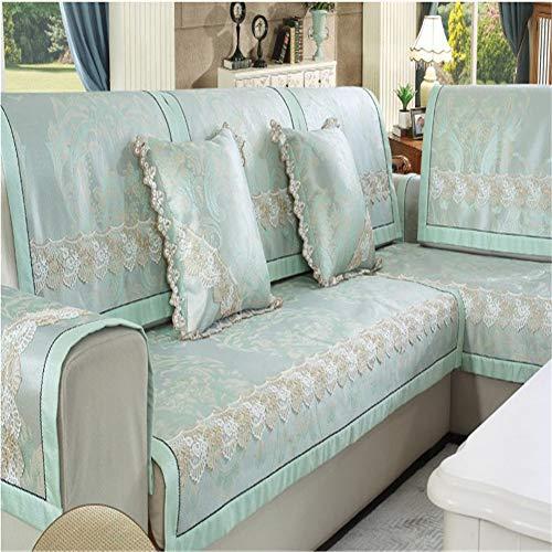 Funda de sofá reversible para muebles, impermeable, antideslizante, para niños, perros, funda para asiento de amor, antideslizante, para muebles (figura 9,60 x 180 cm)