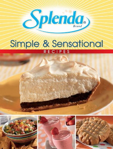 Splenda Simple & Sensational Recipes (6 X 9 Cookbooks)