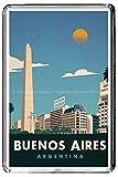 B308 BUENOS AIRES ARGENTINA FRIDGE MAGNET ARGENTINA VINTAGE TRAVEL PHOTO CALAMITA DA FRIGO