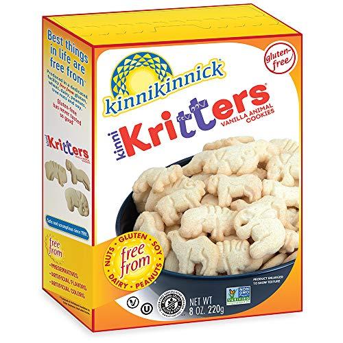 Kinnikinnick KinniKritters Gluten Free Animal Cookies, 8oz/220g (Pack of 6)